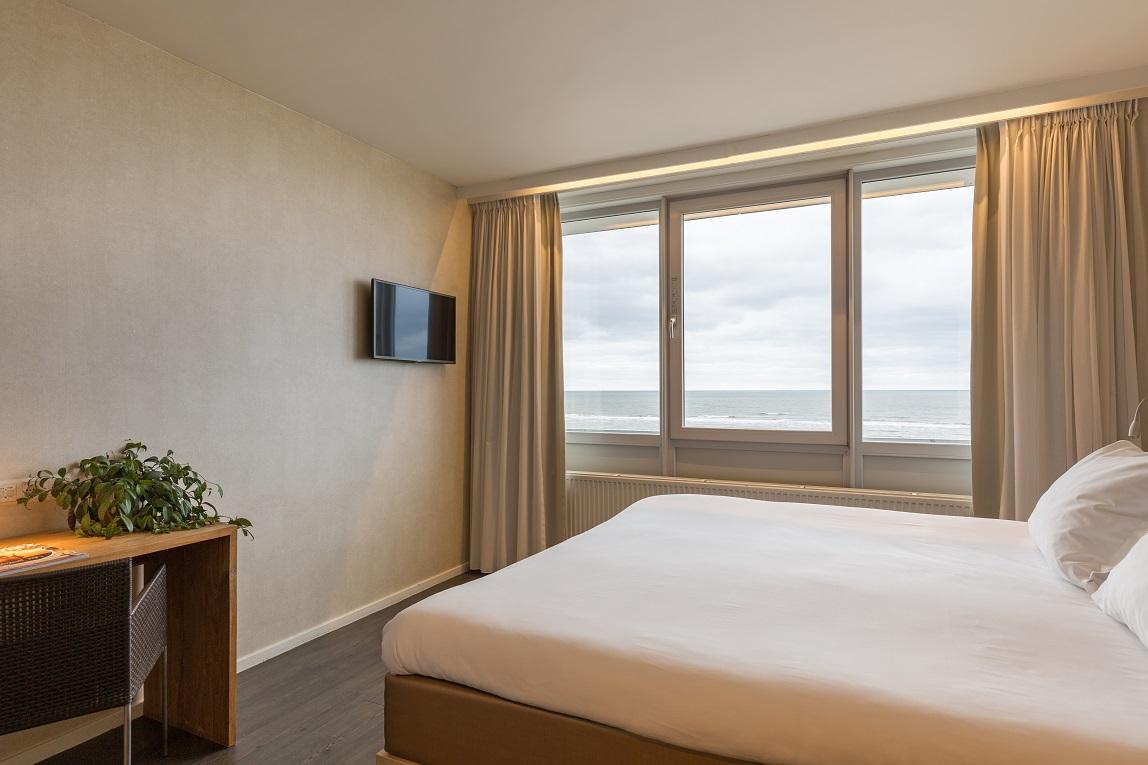 Hotelkamer - zeezicht
